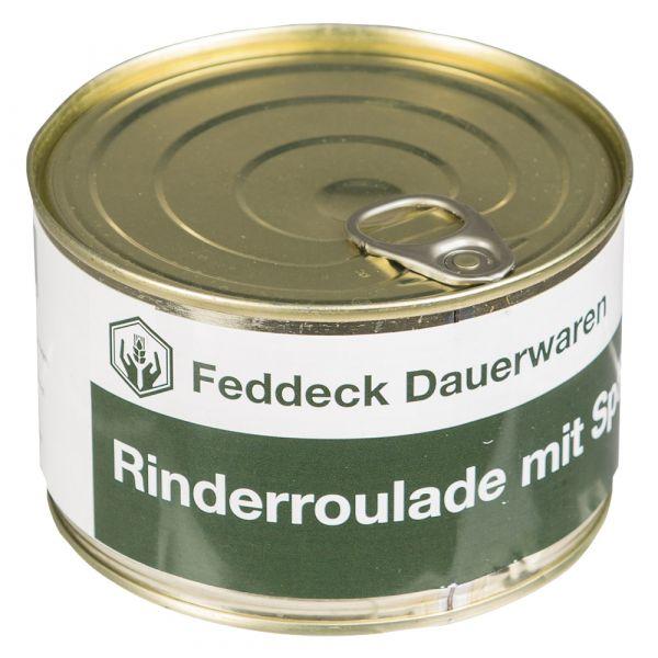 Vollkonserve Dose Rinderroulade mit Spätzle 400 g