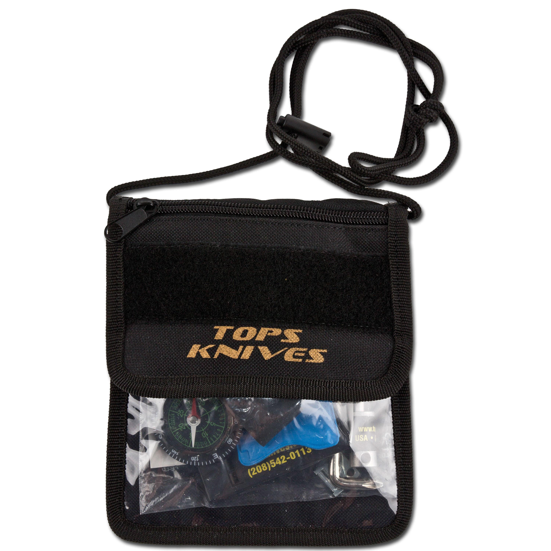TOPS Survival Neck Wallet