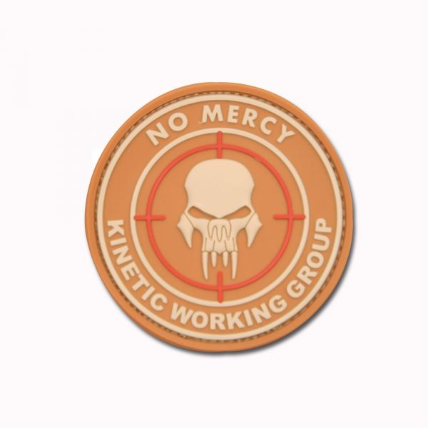 3D-Patch NO MERCY - KINETIC WORKING GROUP coyote