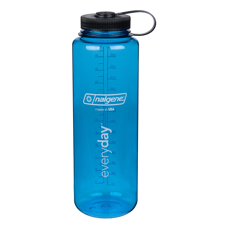 Nalgene Trinkflasche Everyday Weithals Silo 1.5 L slate blau