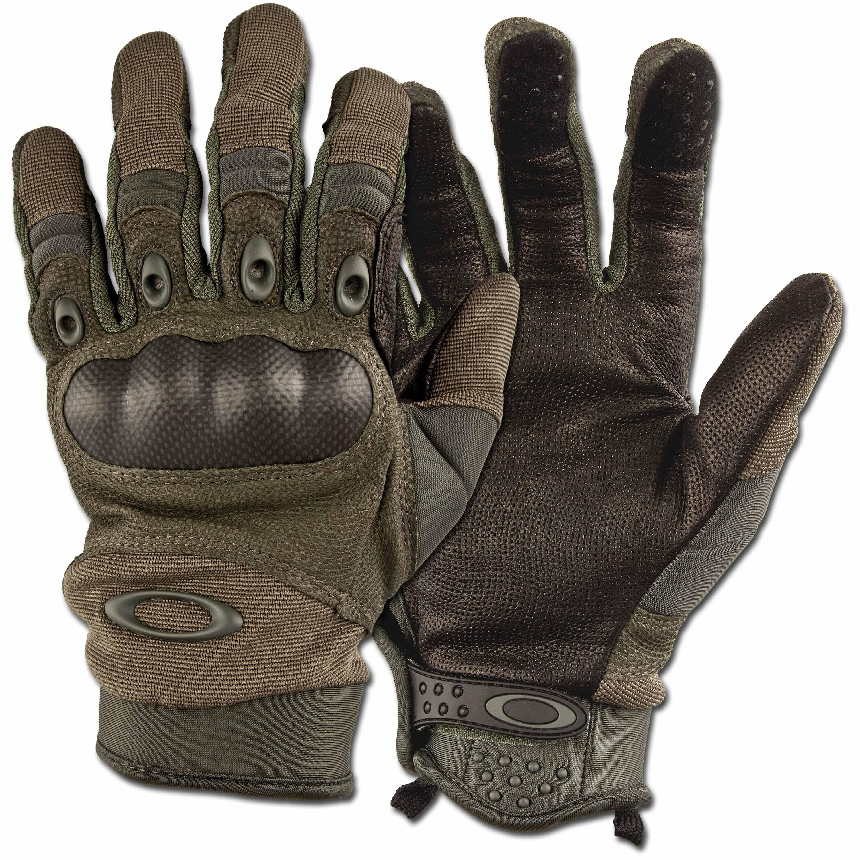 Handschuhe Oakley Factory Pilot Glove oliv
