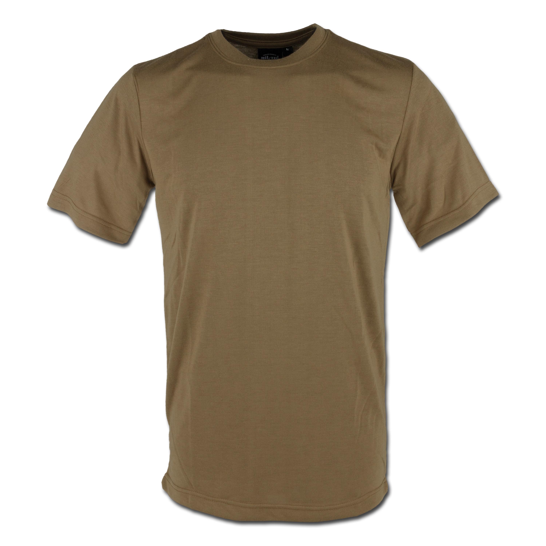 T-Shirt CoolMax Miltec coyote