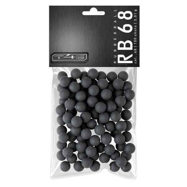 T4E Home Defense Rubberballs Prac Series Kaliber .68 100 Stück