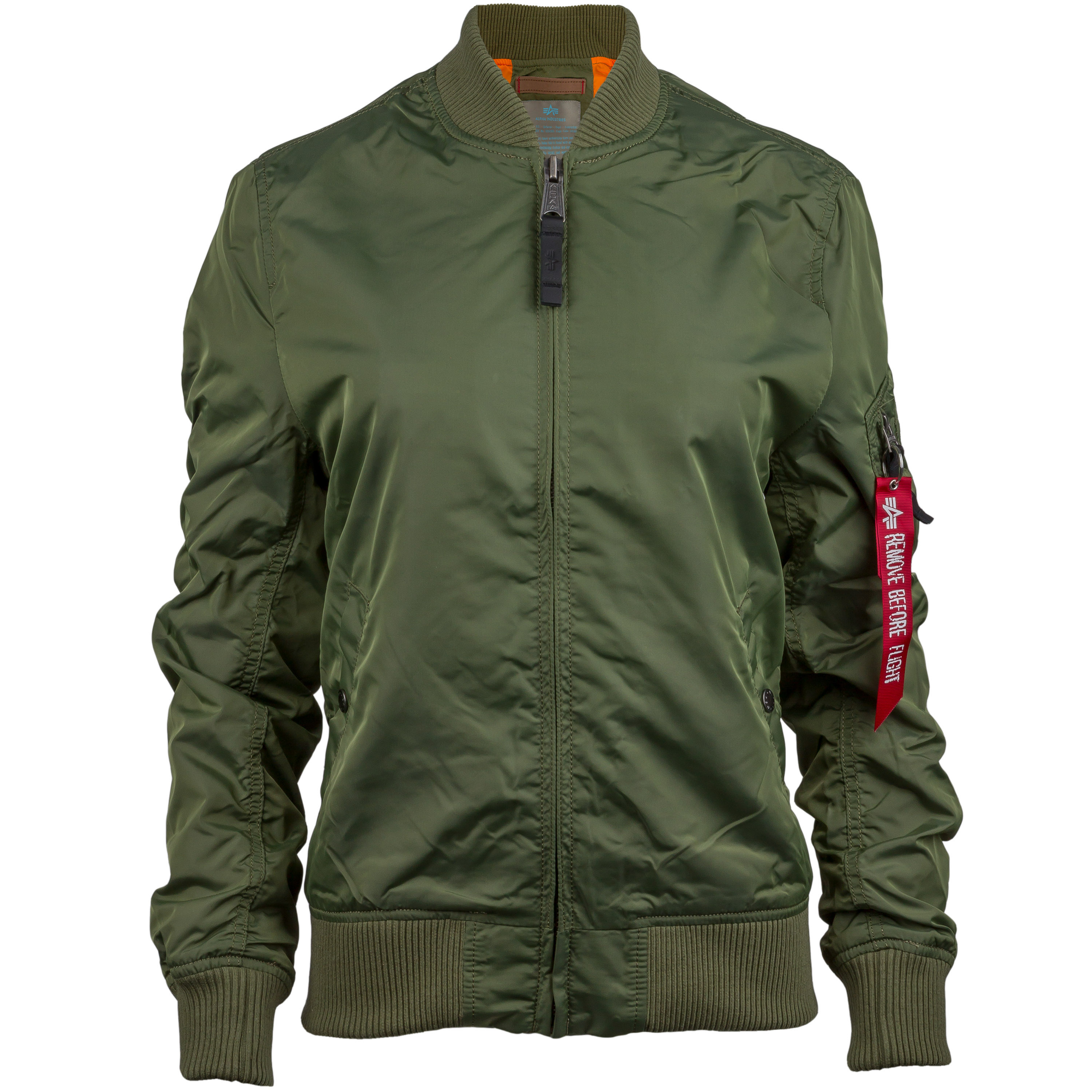 Alpha Industries Damenjacke MA-1 TT oliv