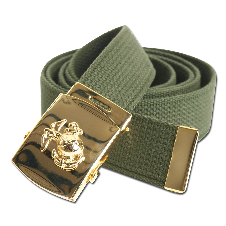 US Hosengürtel Marine Corps oliv