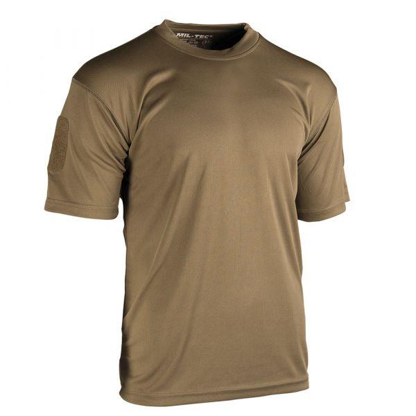 Mil- Tec T-Shirt Tactical Quickdry dark coyote