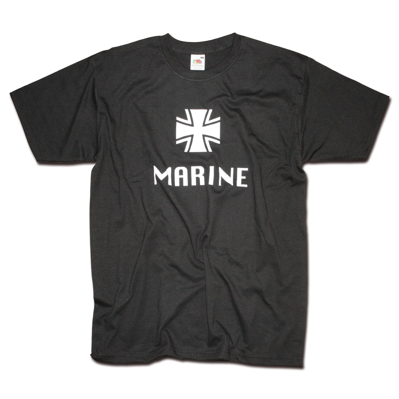 T-Shirt Milty Marine schwarz
