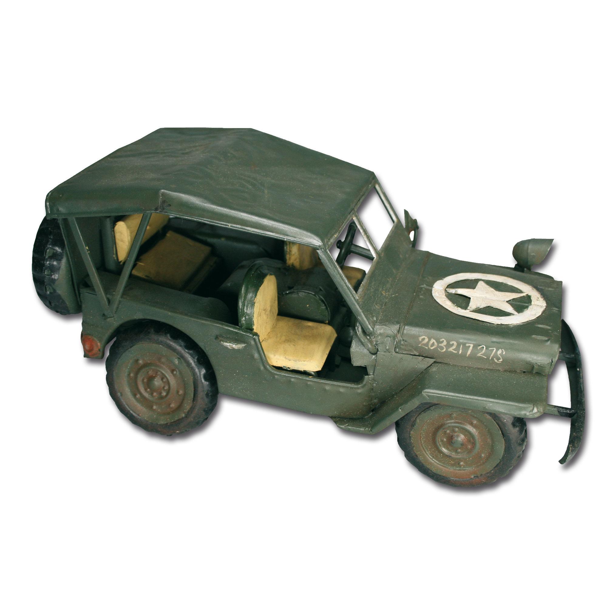 Spielzeug US Jeep Willys