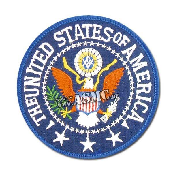 Abzeichen US Textil President