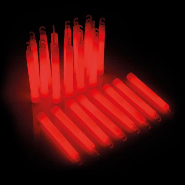 KNIXS Power-Knicklichter rot 25er Pack