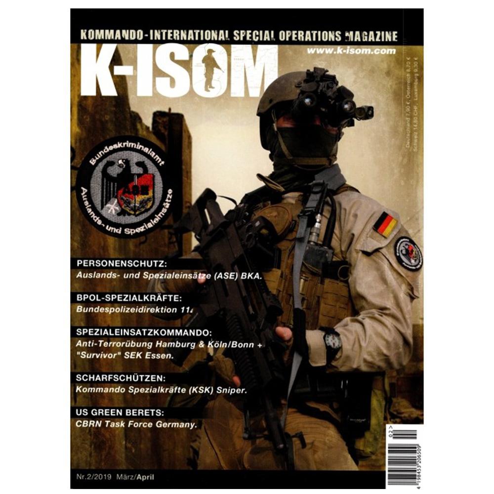 Kommando Magazin K-ISOM Ausgabe 02-2019