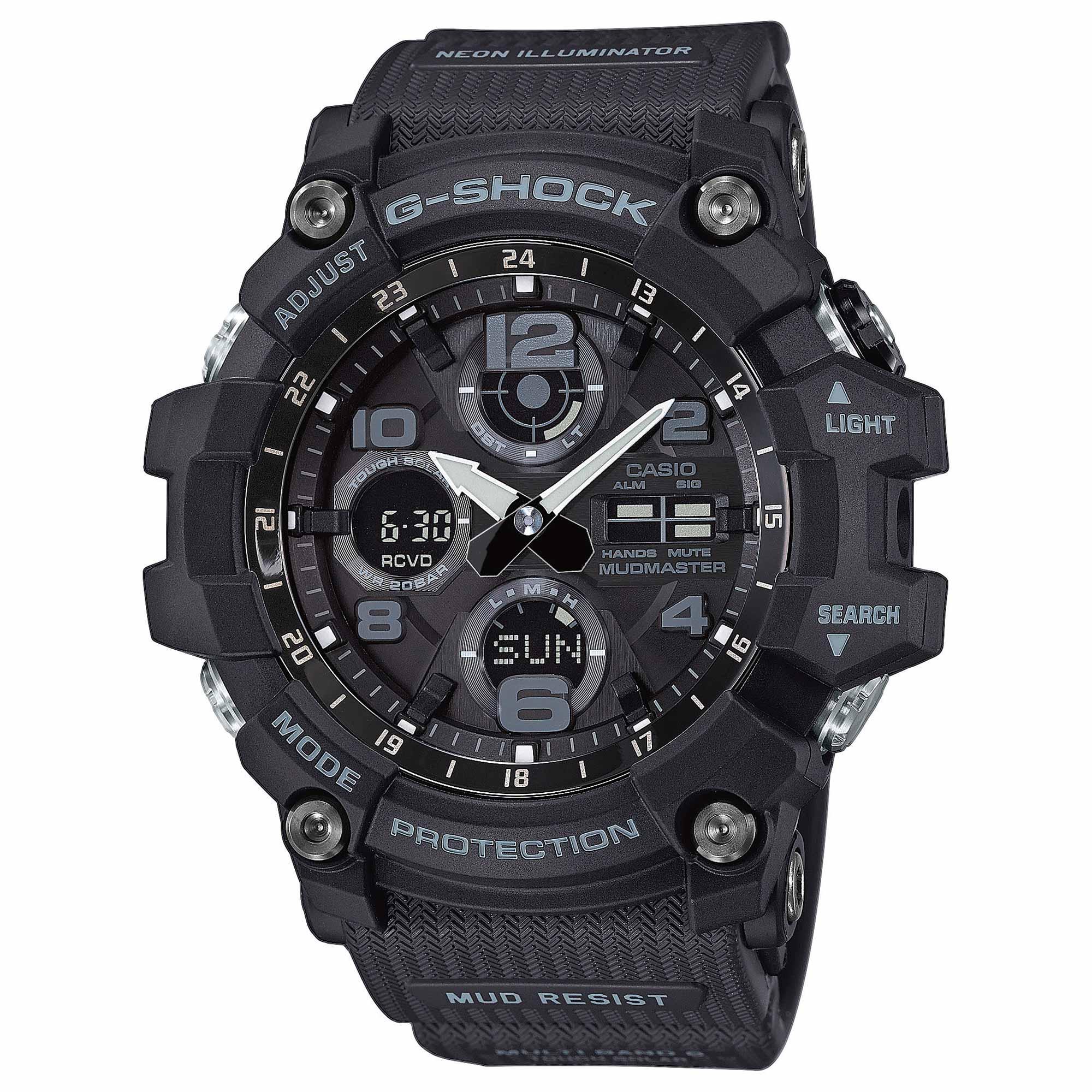 Casio Uhr G-Shock Mudmaster GWG-100-1AER schwarz
