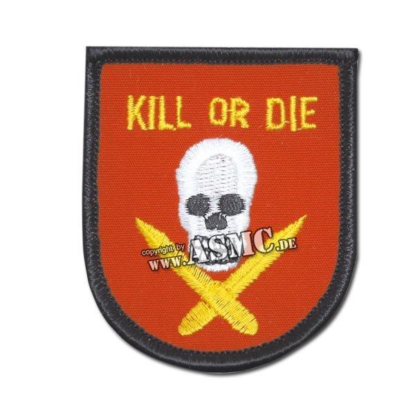 Abzeichen US Textil Kill or Die
