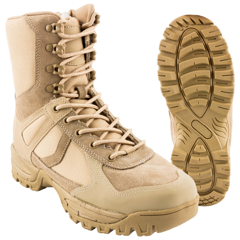 Mil Tec Französische Commando Stiefel Canvas Wanderschuhe