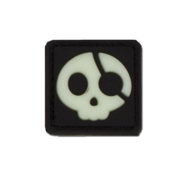 3D-Patch Halloween Pirate nachleuchtend