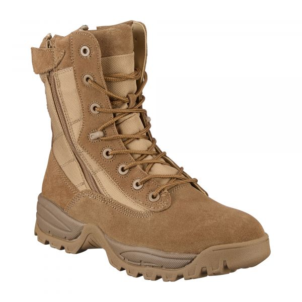 Tactical Boots Two-Zip Mil-Tec coyote