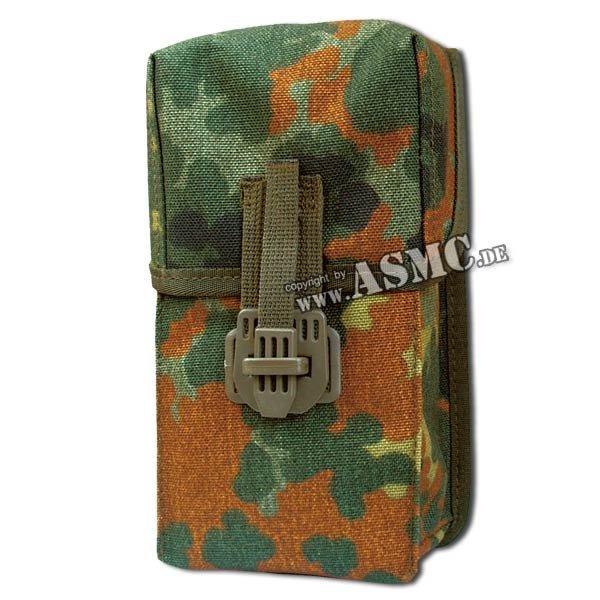 Magazintasche G3 mit Adapterclip flecktarn