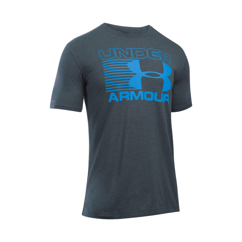 Under Armour Shirt Blitz Logo grau