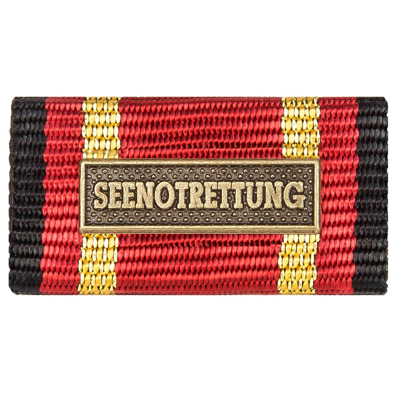 Ordensspange Auslandseinsatz SEENOTRETTUNG bronze