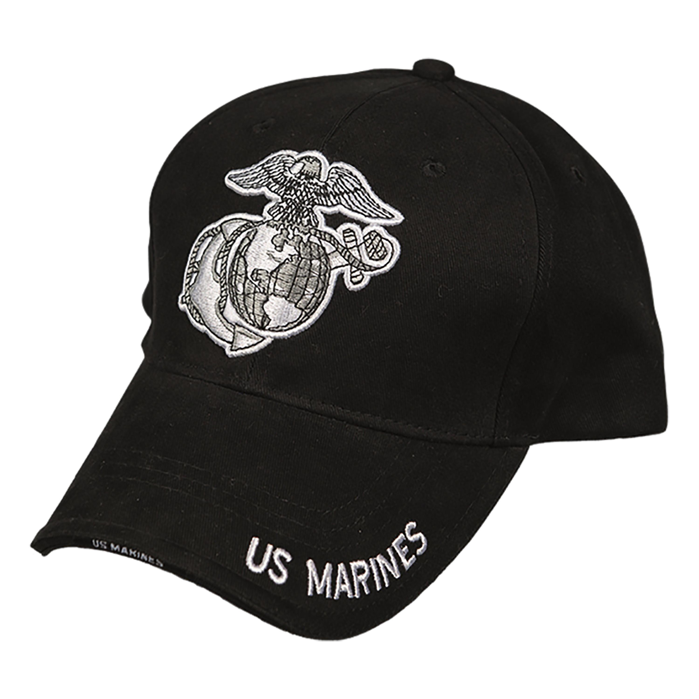 Baseball Cap MARINES schwarz
