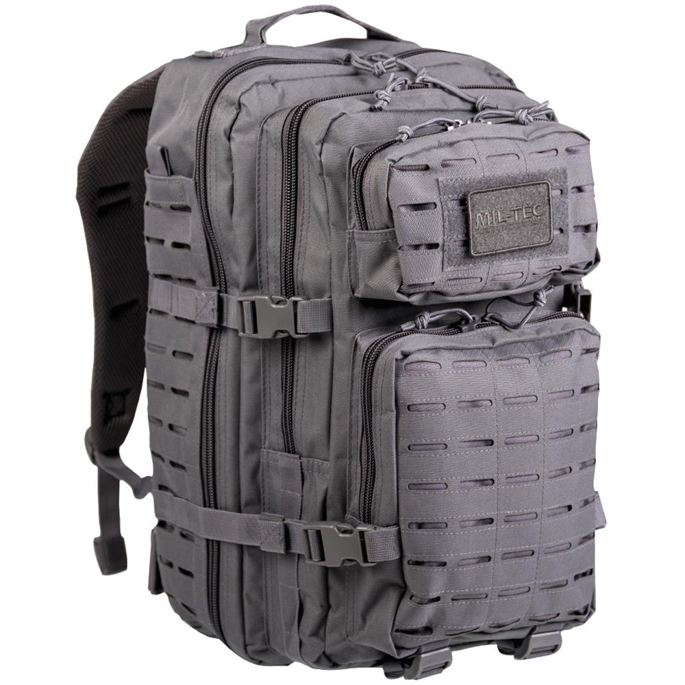 Rucksack US Assault Pack LG Laser Cut urban grey