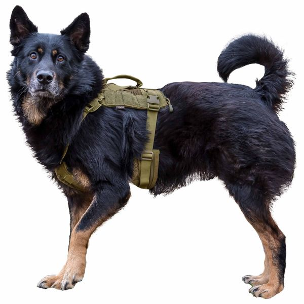 Primal Gear Hundegeschirr Tactical Dog Harness tan