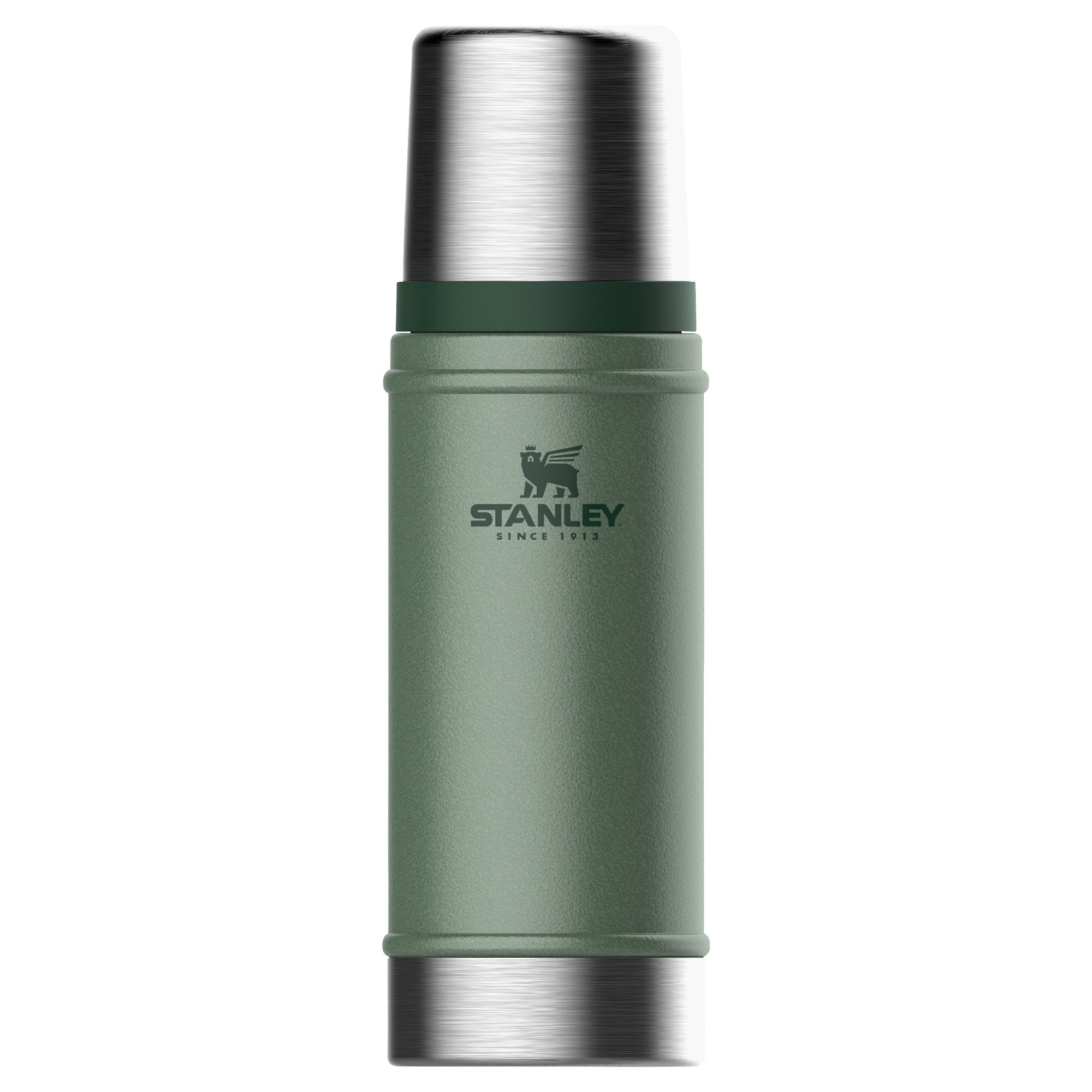 Thermoskanne Stanley 470 ml oliv