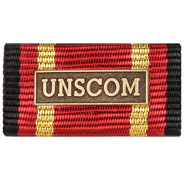 Ordensspange Auslandseinsatz UNSCOM bronze