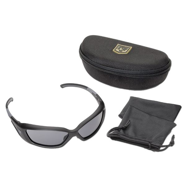 Brille Revision Hellfly black/smoke