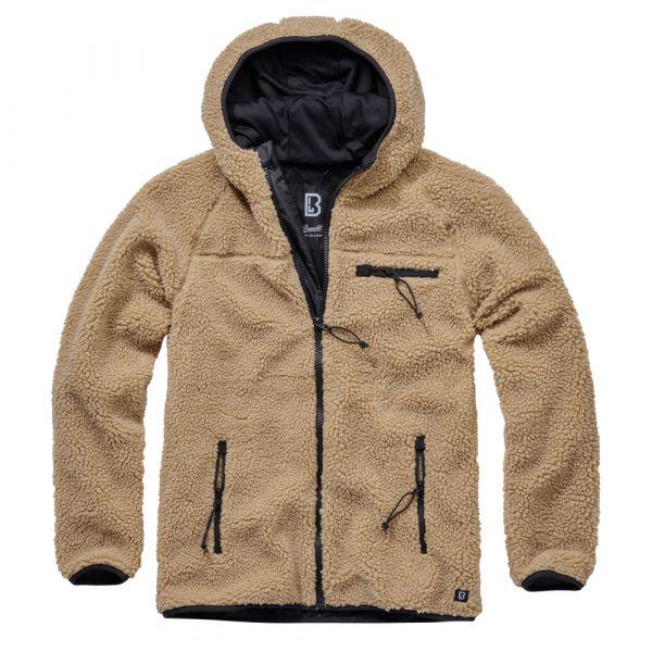 Brandit Jacke Teddyfleece Worker Jacket camel