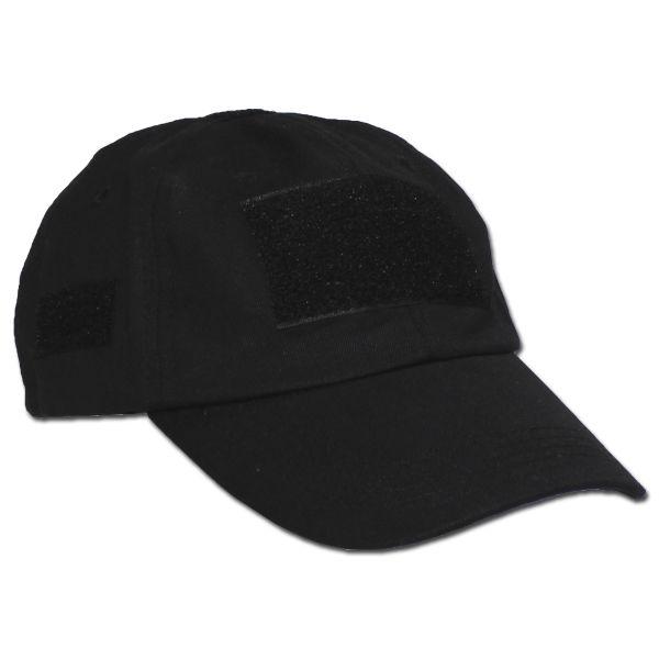 Einsatz-Cap mit Klett Universalgröße schwarz