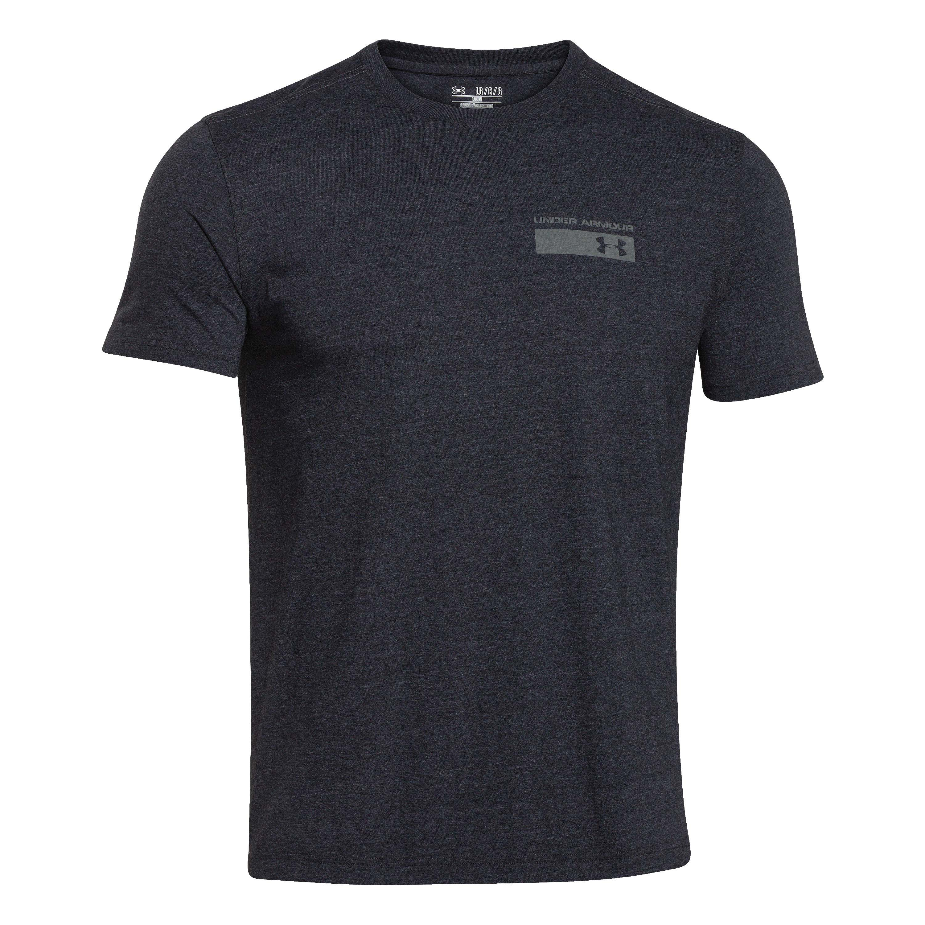 Under Armour Shirt Military Issue schwarz