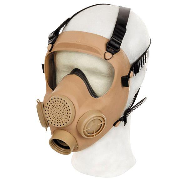 Polnische Schutzmaske MP5 khaki neuwertig