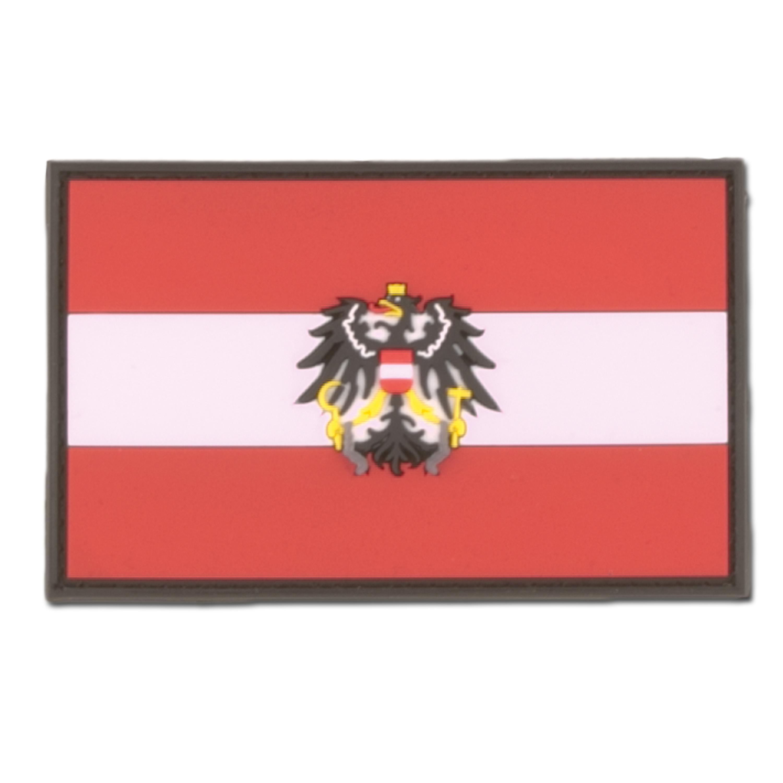 3D-Patch Österreich mit Wappen
