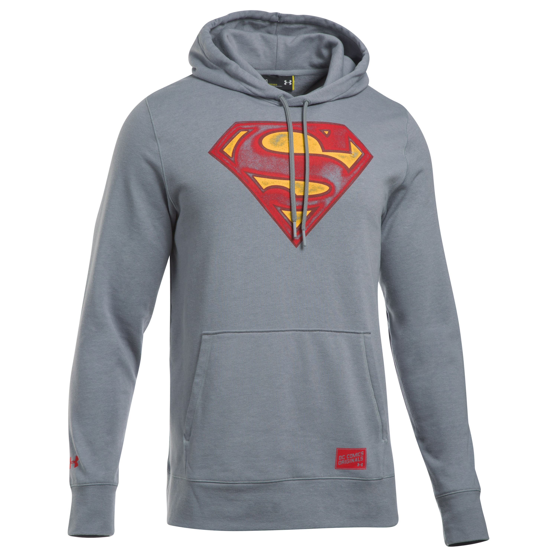Under Armour Pullover Retro Superman grau