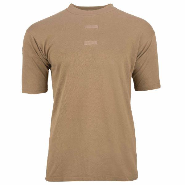 BW T-Shirt Tropen kurzarm khaki gebraucht