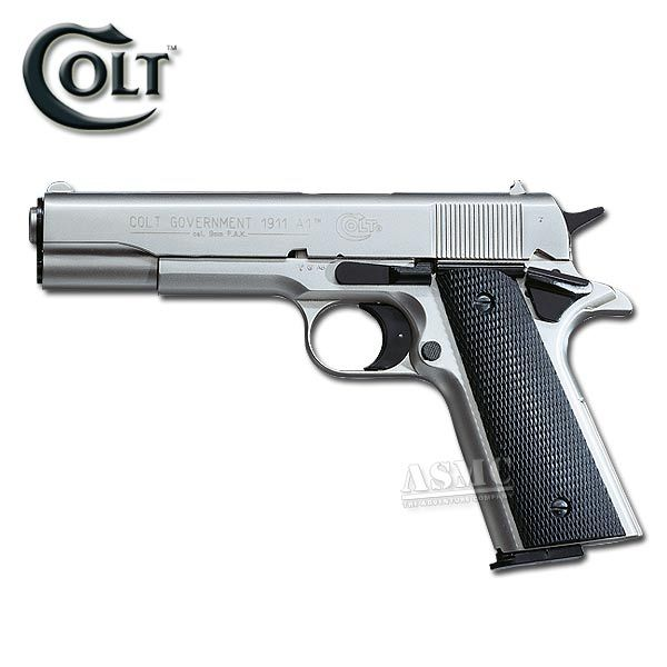 Pistole Colt Government 1911 A1 vernickelt