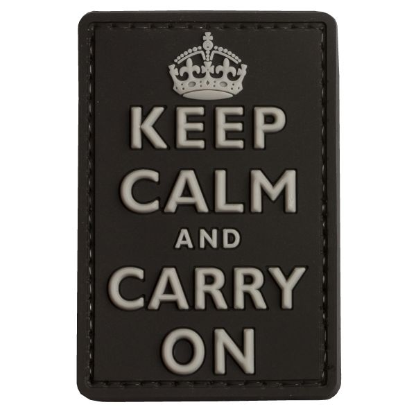 TAP 3D Patch Keep Calm and Carry on swat