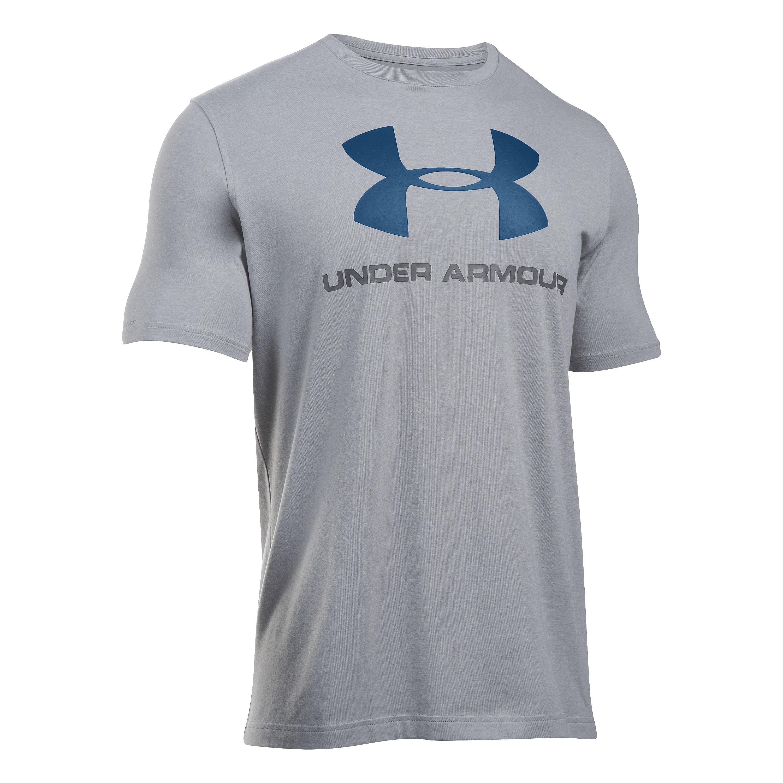 Under Armour Shirt Sportstyle Logo grau III