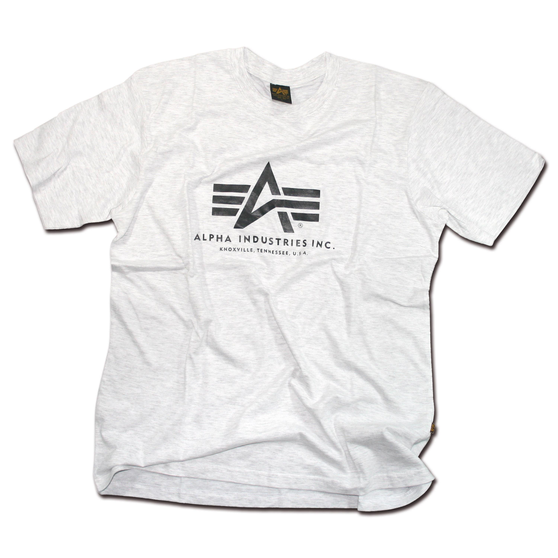 T-Shirt Alpha Industries Basic grau
