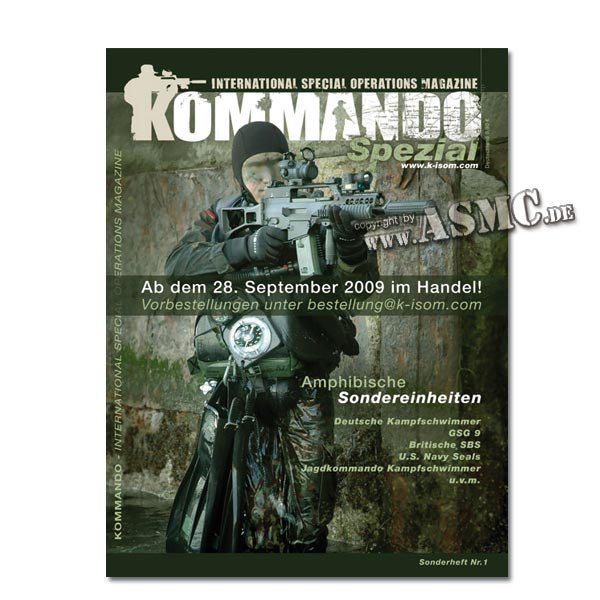 Kommando Magazin K-ISOM Spezial-Ausgabe Nr.1