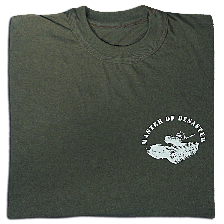 T-Shirt Master of Desaster oliv