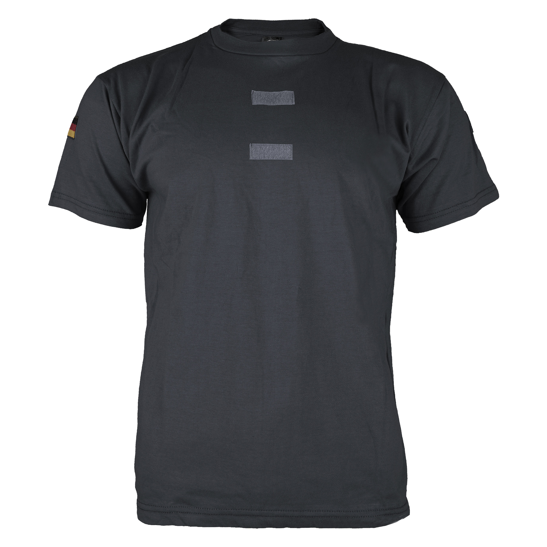 BW Tropenhemd Import schwarz mit Klett