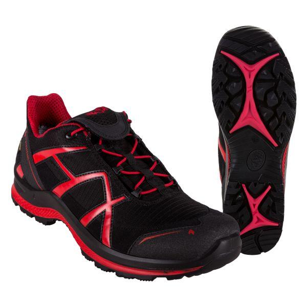 Haix Schuh Black Eagle Adventure 2.0 schwarz rot