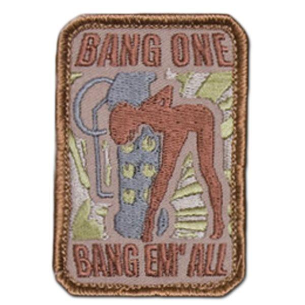 MilSpecMonkey Patch Bang One Bang Em All small desert