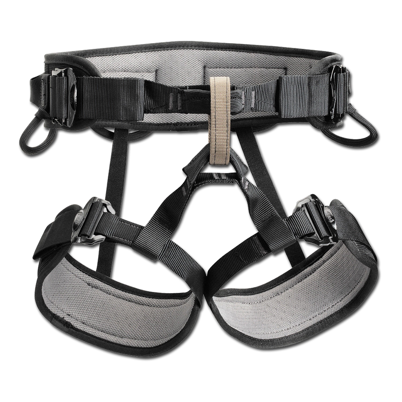 Petzl Sitzgurt Falcon Mountain 2 schwarz grau