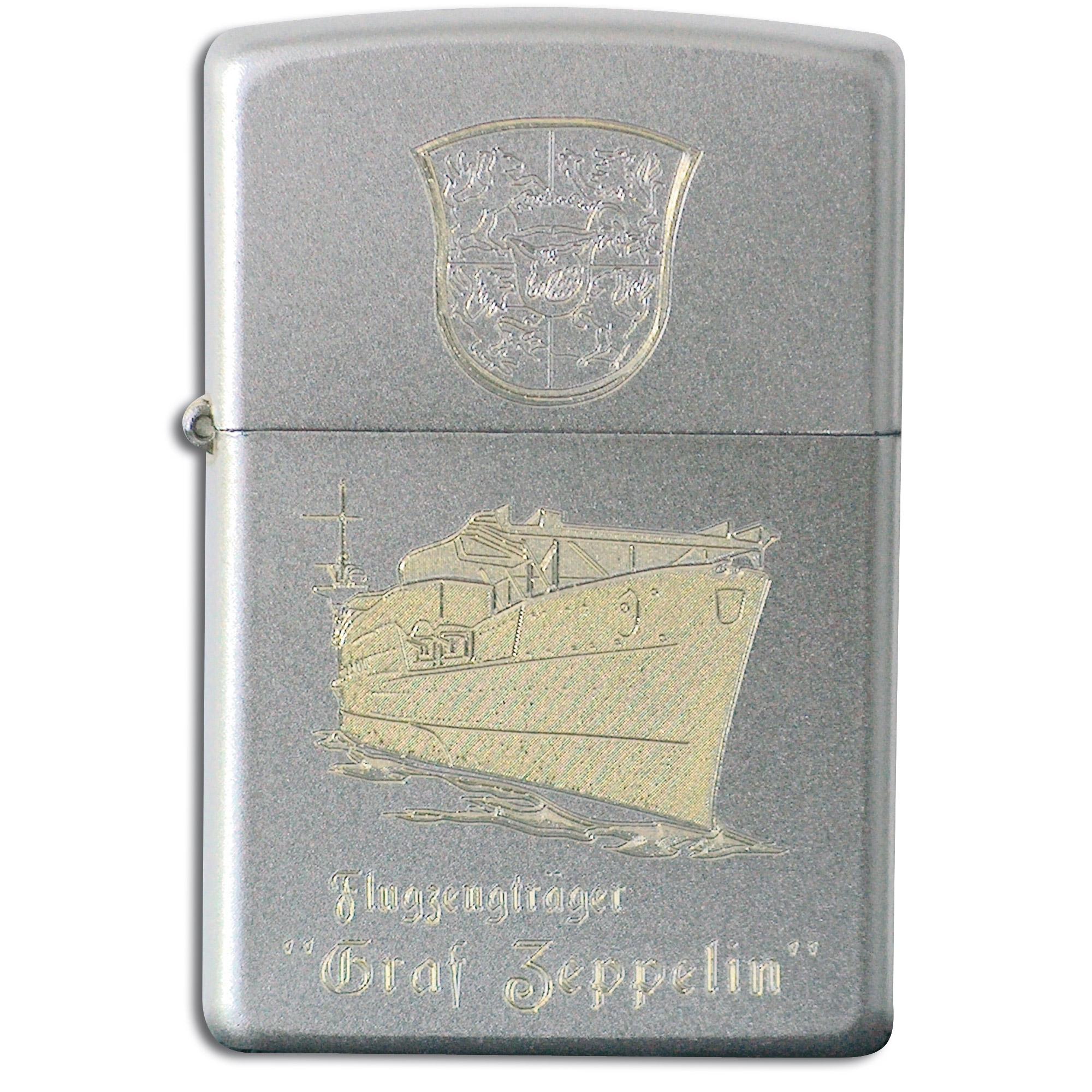 Zippo mit Gravur Graf Zeppelin