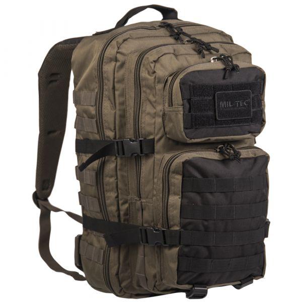 Mil-Tec Rucksack US Assault Pack LG ranger green schwarz