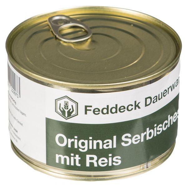 Vollkonserve Dose Serbisches Feuerfleisch mit Reis 400 g