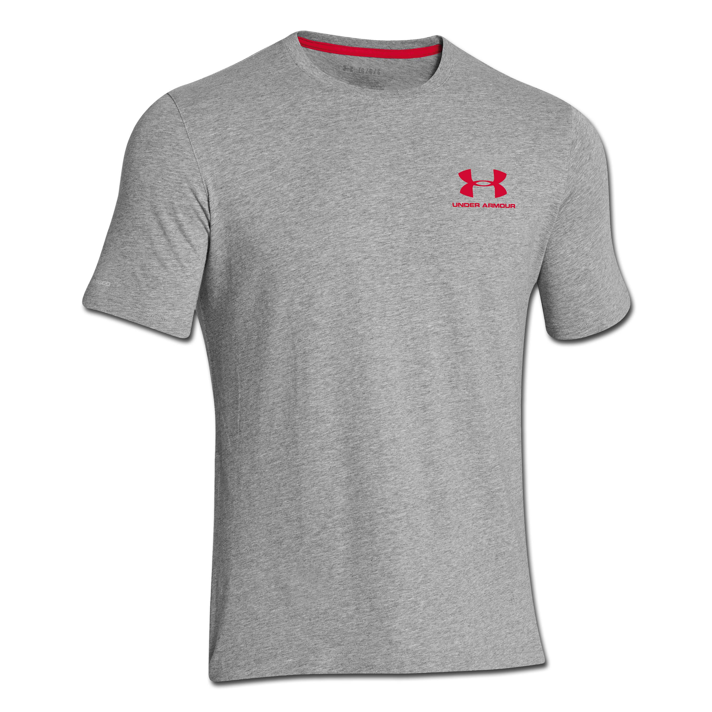 Under Armour Shirt CC Sportstyle grau